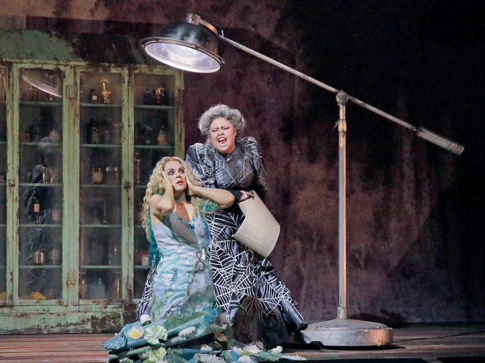 At the Met, 'Rusalka' Serves Up Fishy Unrealness