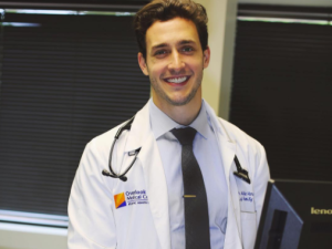 No, this is not a stock photo. It's Doctor Mike.
