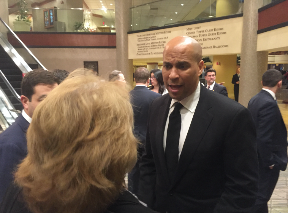 Chamber Trip: Booker Says Flynn Resignation Part of Larger Pattern