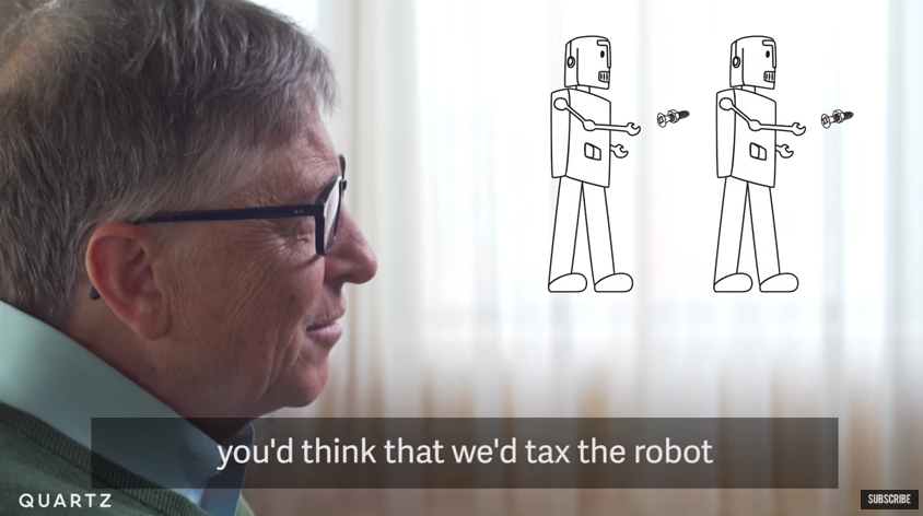 Bill Gates Wants to Tax Robots Just Like Humans