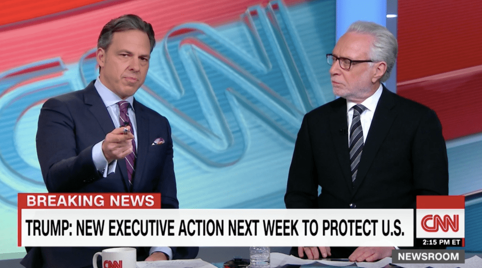 Jake Tapper's Message to Trump: 'You Won—Get to Work and Stop Whining'