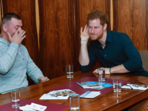 Prince Harry is listening.