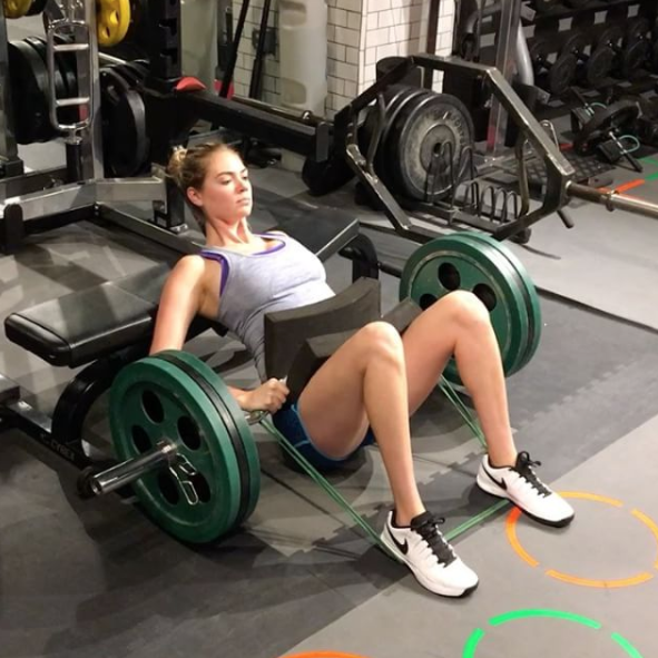 How to Start Weightlifting Like Kate Upton