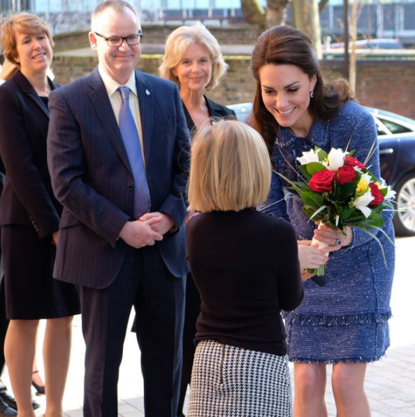 Kate Middleton Colors With Kids During Her Latest Charitable Visit