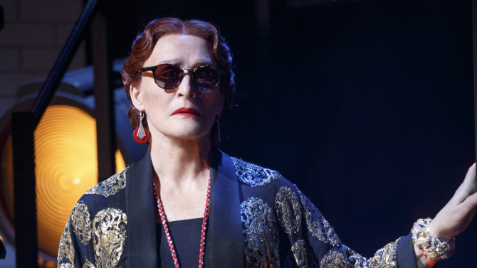 22 Years Later, Glenn Close Still Shines in 'Sunset Boulevard'