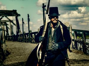Tom Hardy as James Keziah Delaney.