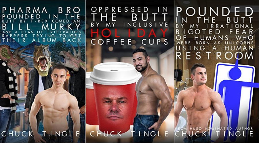 Valentine's Day Advice From Chuck Tingle, Prolific Author of Dinosaur Erotica