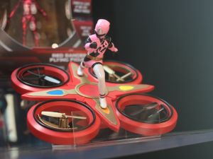 A Mighty Morphin' Power Rangers licensed drone from DGL Group.