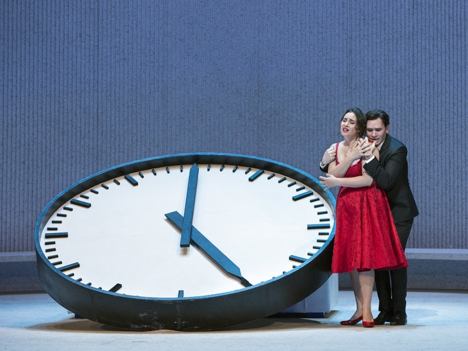 Almost Like Being in Love: 'La Traviata' Blazes at the Met