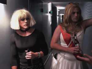 Classic stag party/ rejection of gender binarism on Vanderpump Rules.
