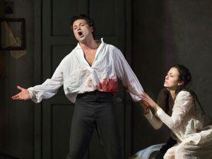 Vittorio Grigolo and Isabel Leonard in Massenet's 'Werther'.