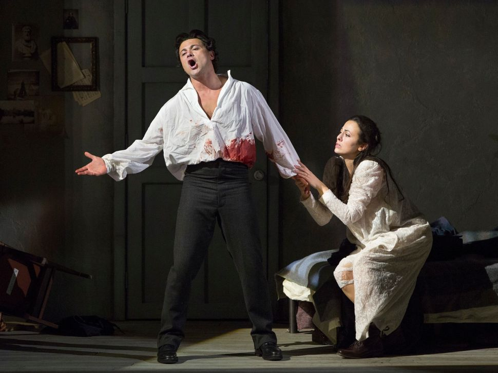 Death Becomes Him: Tenor Vittorio Grigolo Leaves Blood on the Met Stage