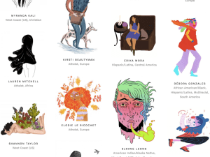 Women Who Draw is an open directory of female professional illustrators, artists, and cartoonists.