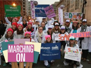 Marching On: 500 Women Scientists