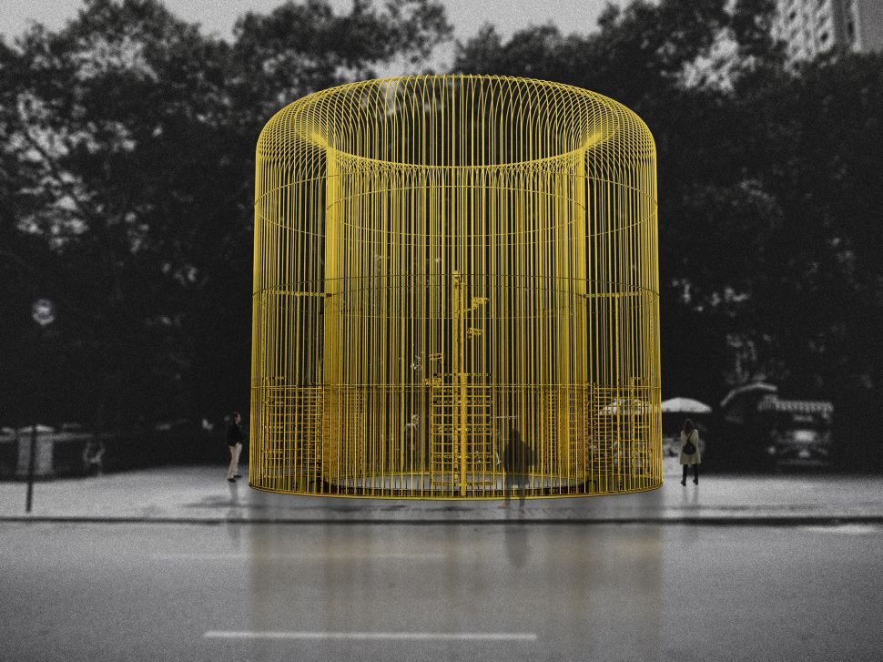 Ai Weiwei Plans to Put Up Fences Across New York