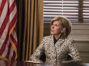 Christine Baranski as Diane Lockhart.