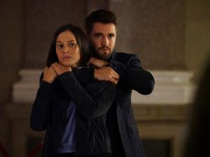 Genesis Rodriguez as Jane Walker and John Bowman as Jack the Ripper.