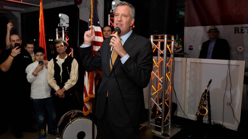 De Blasio Can't Provide a List of Donors Who Didn't Get City Favors Because He Has Writer's Block