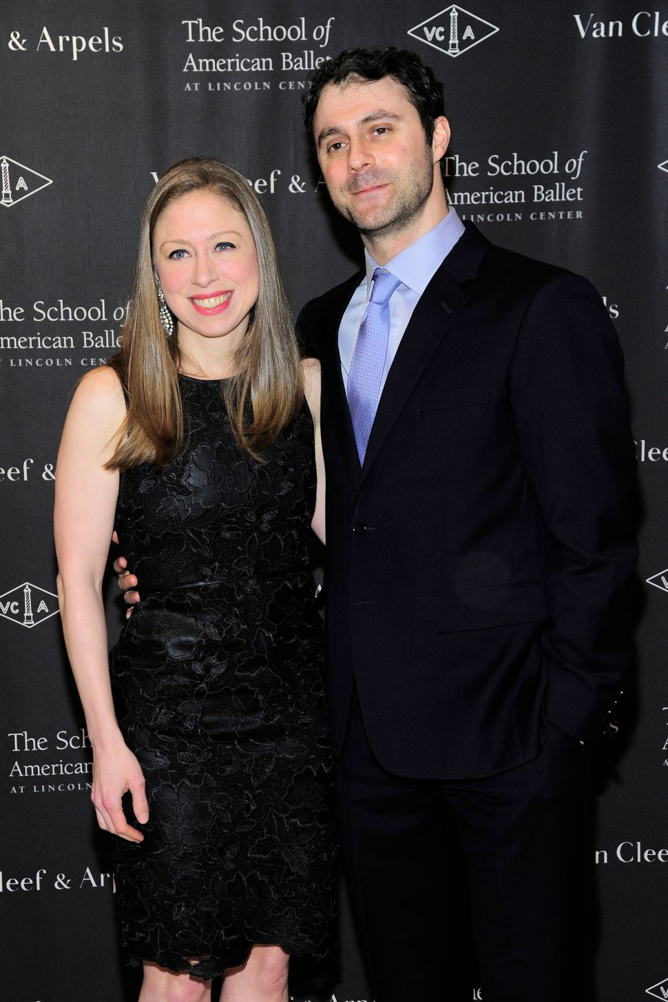 Chelsea Clinton's Night Out at The School of American Ballet's Winter Ball