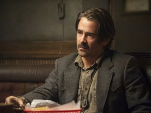 Colin Farrell as Detective Ray Velcoro.