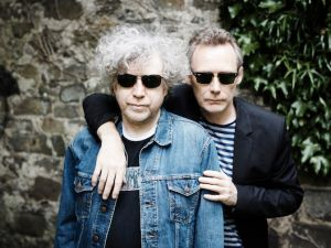 The Jesus and Mary Chain's William and Jim Reid (l-r)