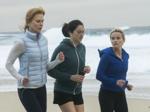 Nicole Kidman as Celeste Wright, Shailene Woodley as Jane Chapman and Reese Witherspoon Madeline Martha Mackenzie.
