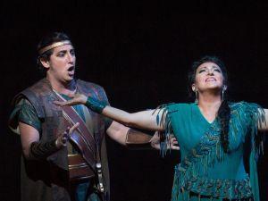 Jorge de León and Krassimira Stoyanova play it by the numbers in Verdi's 'Aïda'.