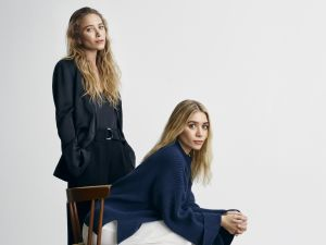Ashley and Mary-Kate Olsen in work appropriate garb.