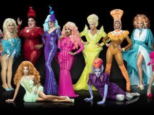 The cast of RuPaul's Drag Race season 9.