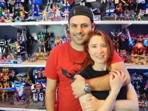 Bruno and his Wife Mia, Mighty Morphin Vloggers.