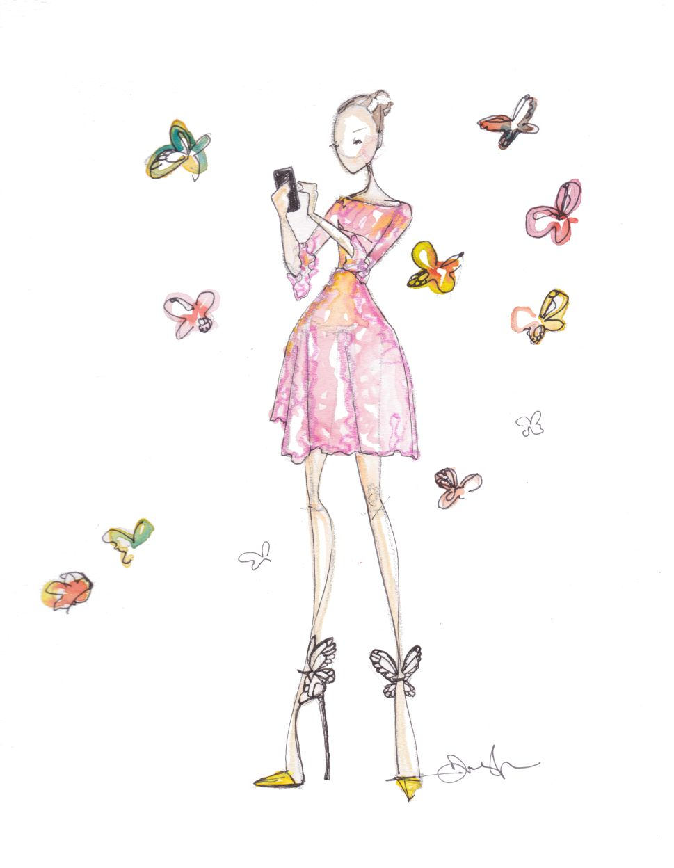 This Fashion Illustrator Challenges Women to Improve Their Wardrobes