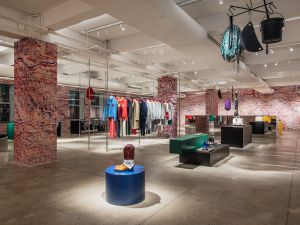 Sterling Ruby has designed the Calvin Klein showroom.