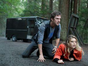 Dan Stevens as David Haller and Rachel Keller as Syd Barrett.
