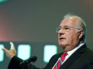 Joe Ricketts, owner of DNAinfo and Gothamist.