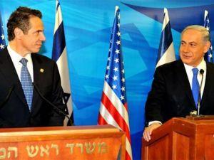 Gov. Andrew Cuomo with Israeli Prime Minister Benjamin Netanyahu.