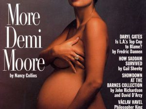 Demi Moore, Vanity Fair, January 1991