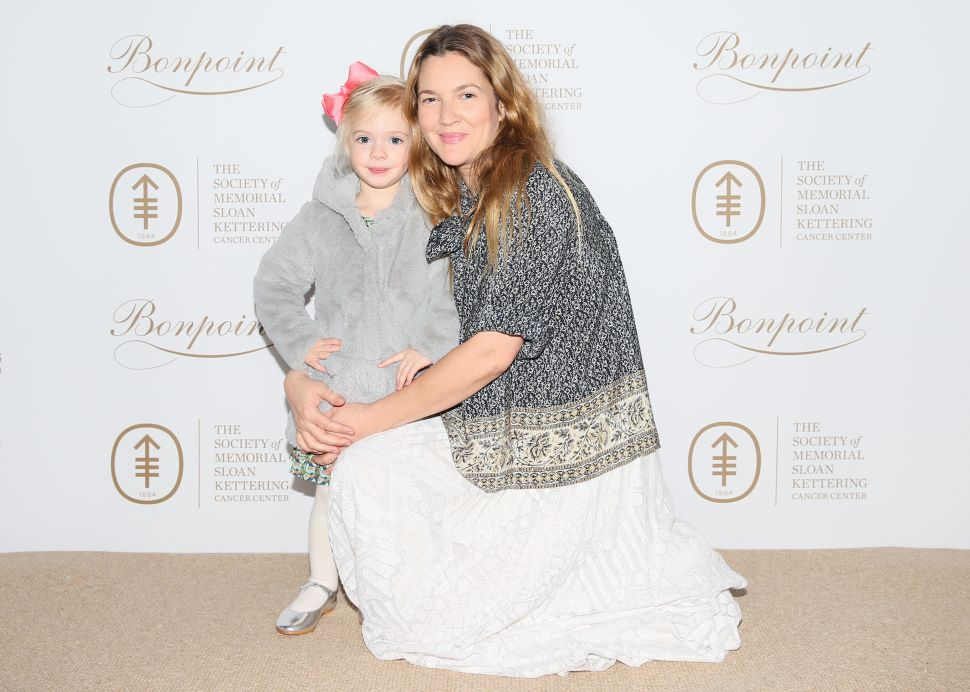 Drew Barrymore Decorated Donuts With Her Daughter in This Week's Best Parties
