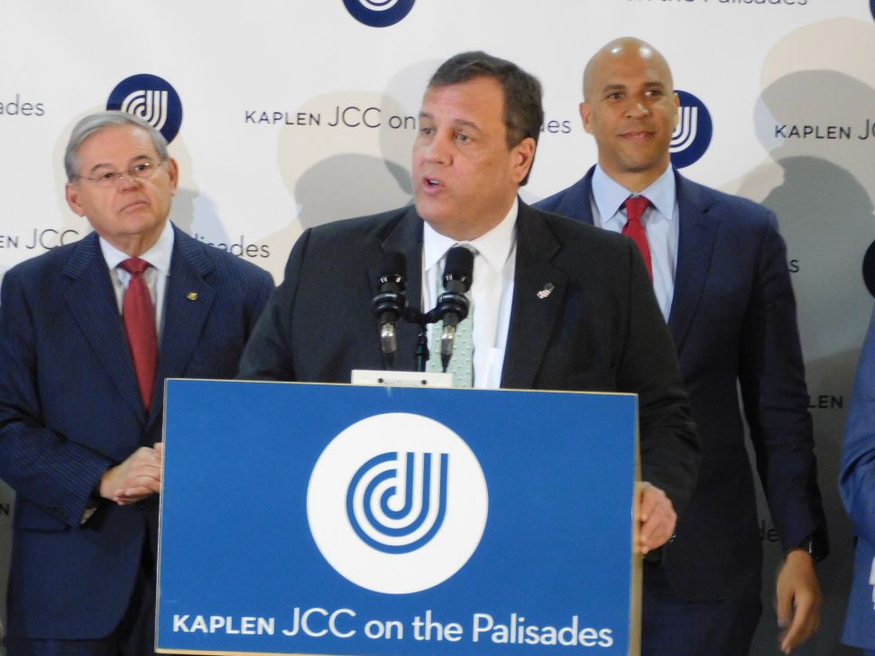 Christie Stands With NJ Democrats to Push Back Against Anti-Semitic Crimes