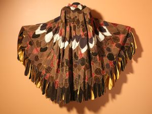 Eagle cape by Neshama Franklin