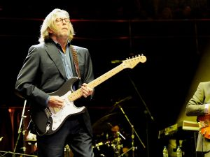 Eric Clapton, Mark King and Jools Holland perform at The Prince's Trust Rock Gala 2010 supported by Novae at the Royal Albert Hall on November 17, 2010 in London, England.