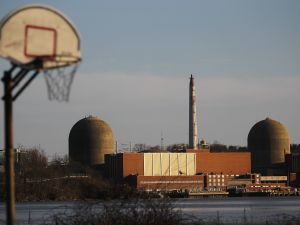 The Indian Point nuclear power plant is seen March 18, 2011 in Buchanan, New York.