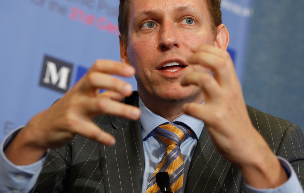 The '0 to 1 Trap' and Seven Other Things I Learned From Peter Thiel