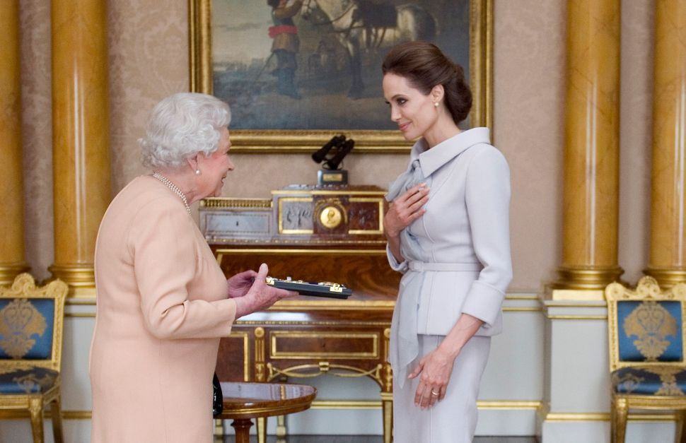 Angelina Jolie Got the Royal Treatment at Buckingham Palace