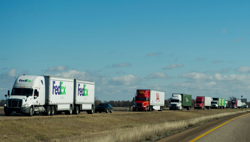 Auto Overlords Sink Their Teeth Into $700B Trucking Industry Pie