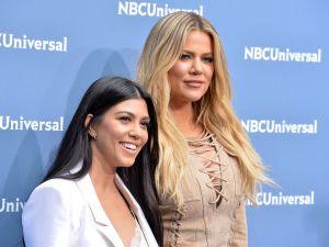 Kourtney and Khloe Kardashian.