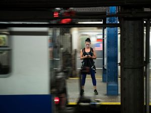 Get your workout in during your morning commute.