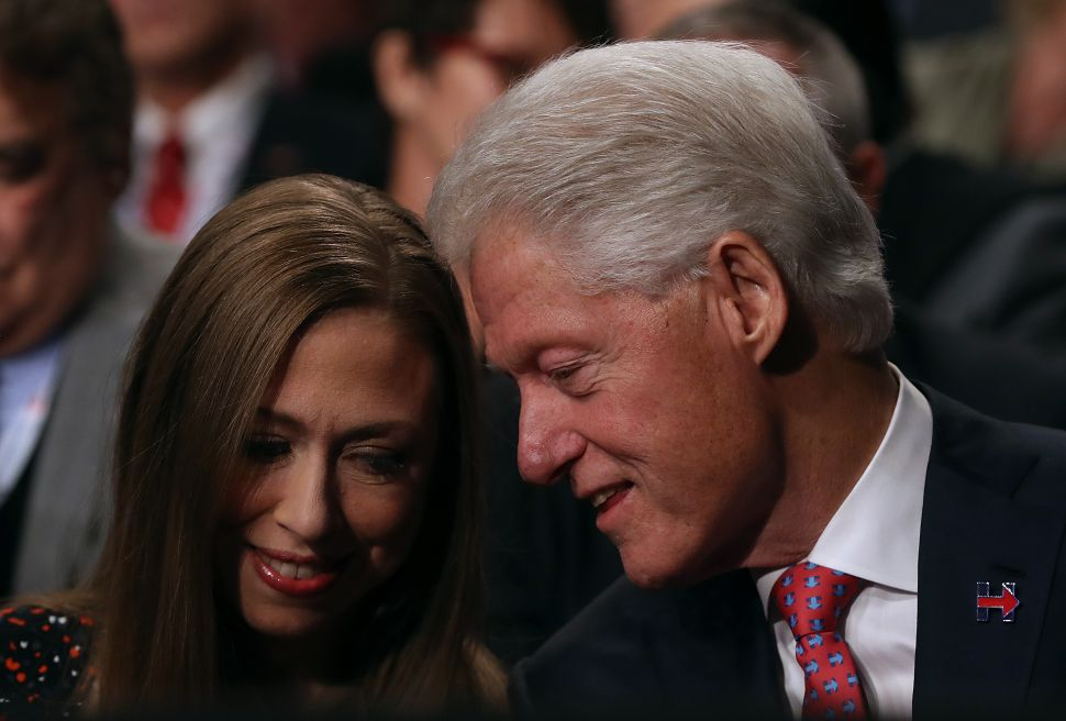 Clintons Try to Claw Their Way Out of the Woods, Back Into Politics