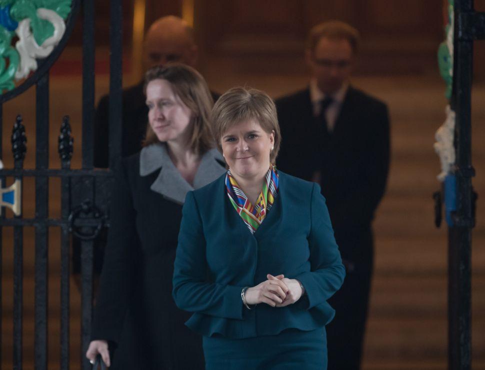 Nicola Sturgeon's Referendum Call Ignores Polling—And Best Interest of Scotland