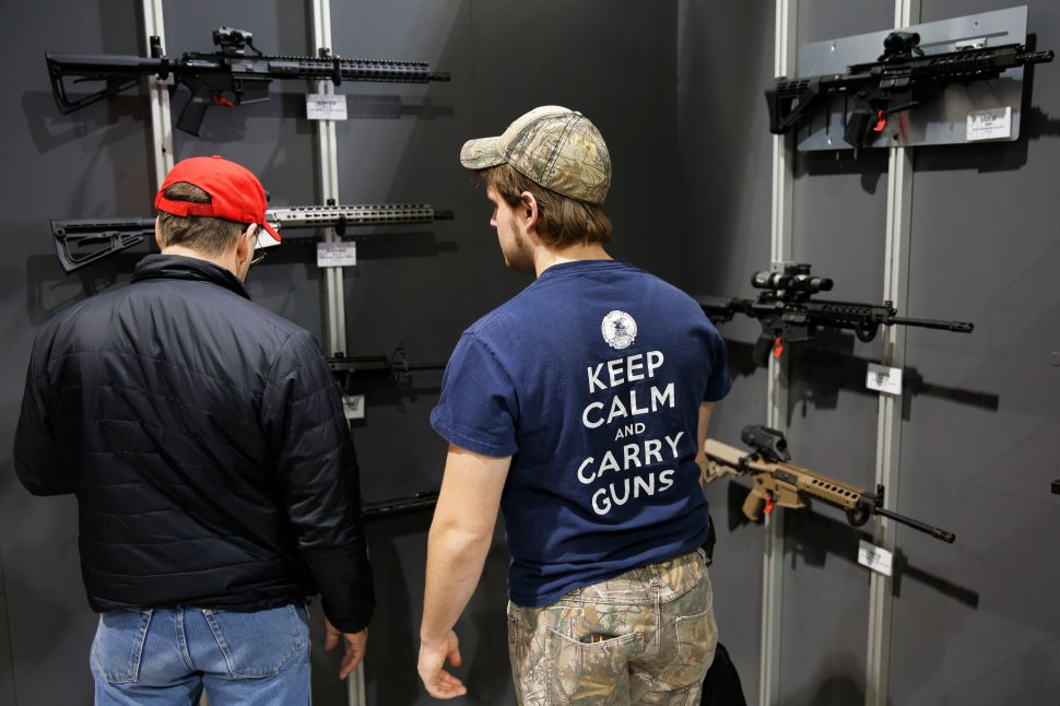 Why Are Gun Sales Plummeting Under the Trump Administration?