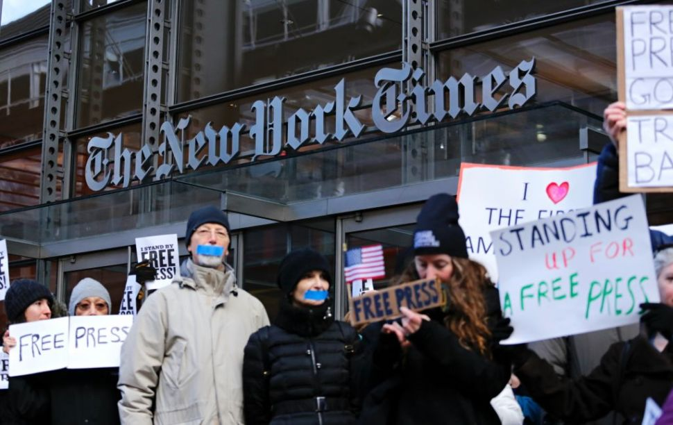 NYT Now Earns More From Readers Than Advertisers—Thanks, Trump